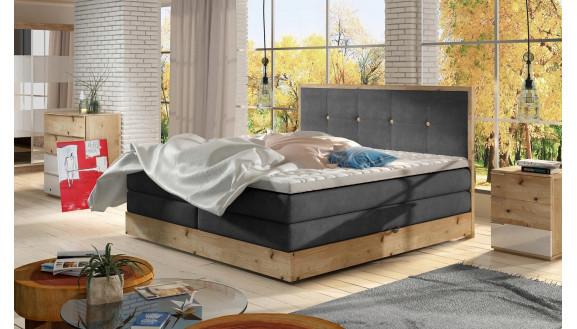 Łóżko Dębowe Elli 180x200