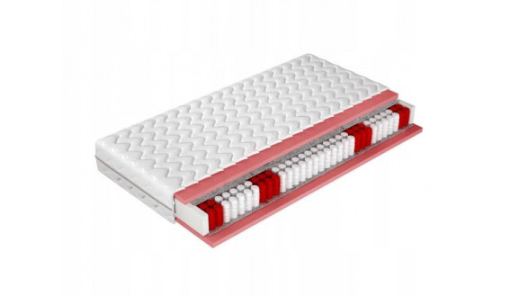 Materac kieszeniowy 7 stref POCKET PLUS 160x200